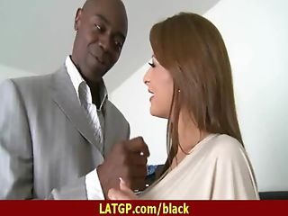 Milf loves to fuck a hard black dick 4