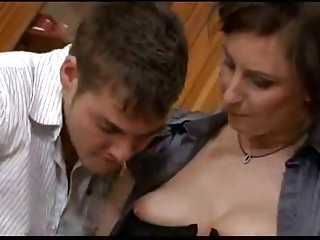 European MOM Fucked By Her Son's Friend