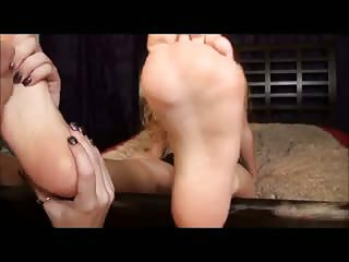 Some American Chick Licking Romanian Girls Feet