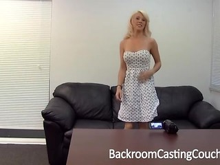 Busty MILF Assfucked on Casting Couch
