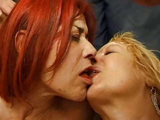 Fabienne Dumont and Jocelyne french troia anal culo