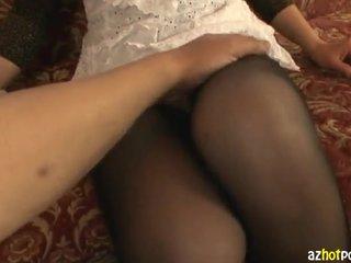 Mature Asian Woman Wearing No Panties