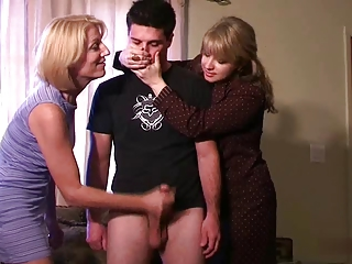 Punished by step-mom and neighbour