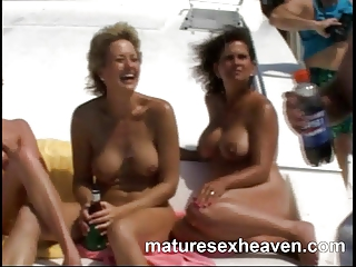 Granny's More Yacht Orgy Part 1