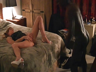 Hot Mature Enjoys Delivery Man's BBC