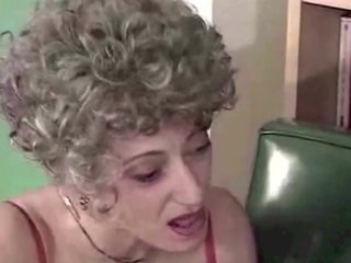 Granny fisted, eats cum & drinks piss by satyriasiss
