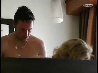 Couple on hotel
