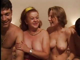 FRENCH CASTING 26 anal mature and youthful babe with 2 men