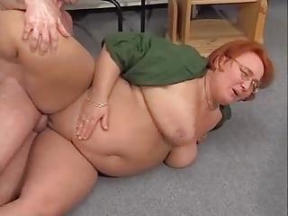 BBW Redhead Fucks