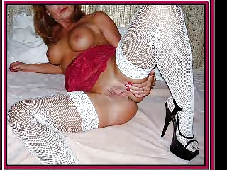 CFM Heels and Stockings