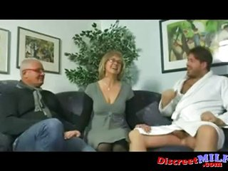 Mature Couple Invites Young Stud To Spice Thi