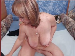 Granny with big tits