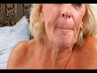 Blonde Mature Loves To Be Fucked by TROC