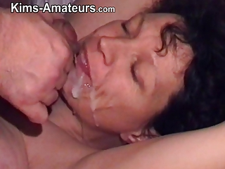 Kims cumshot and facial compilation