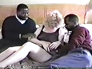 Wife 's first time with two BBC