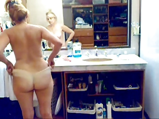 My wife hidden cam