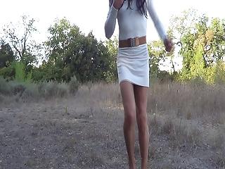 White tunique