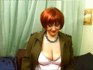 redhead mature big tits webcam 1