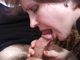 Married lady likes to play with two cock