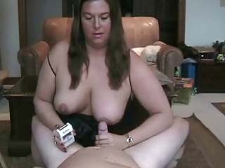 Hot Curvy Mature Smoking BJ