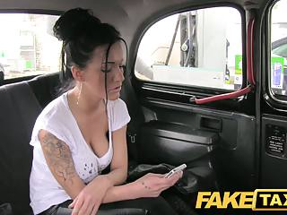 FakeTaxi Busty brown-haired in anal juicepie