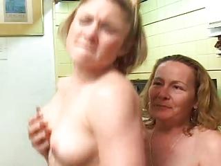 tough lesbian milf