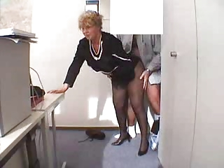 Granny in office