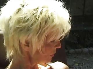 FRENCH MATURE n2 2 blonde lesbian moms milfs mature man