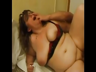 FRENCH MATURE anal bbw mom with youthfuler man
