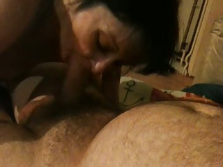 old hooker chewing fat cock no condom