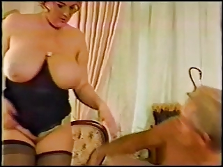 Sexy BBW with Boobs and stockings