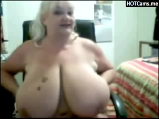 Mature Blonde Huge Tits Dildoes