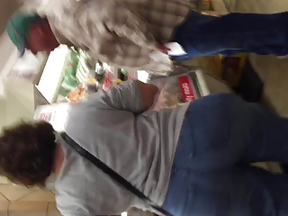 Super WIDE HIPS Grocery Store GILF part 2