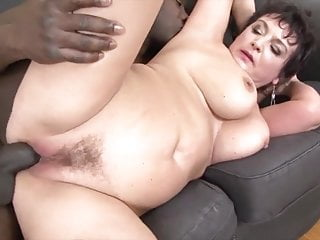 Grandma hard-core boinked by dark-hued guy in her taut caboose enjoys A