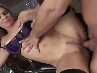 Blond Mom and NOT her Son Anal