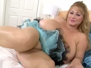 Messy mega-bitch Samantha 38G taunts Her devotees wiggles Her fun bags