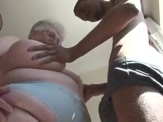 Hefty Boobied grandmother attempts Dark Chocolate