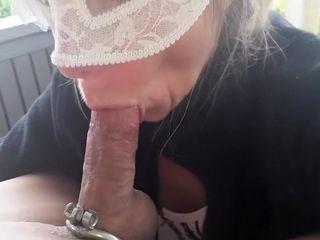 Wear and tear my cum she likes