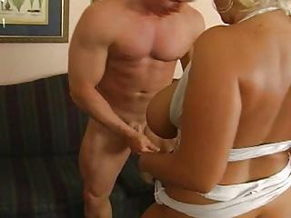 Big boobs southern MILF's birthday stripper surprise