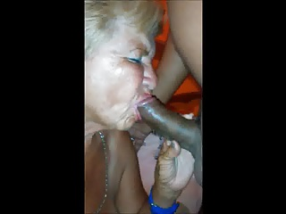 Old granny sucks make oral sex with me