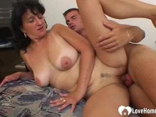 Alluring GILF wants his gigantic firm staff