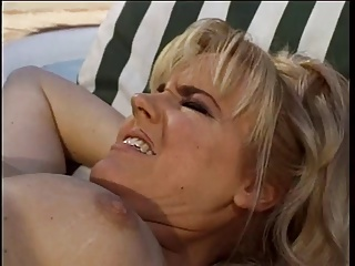 Cheating Wife Gets Two Cocks Squirts Husband Masterbates