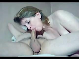 Wife Sucking Cock Deep On Webcam