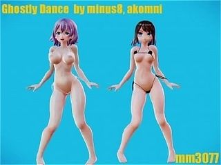 MMD implacable Dance Twerk Dance - tour chubby botheration Hentai sexual intercourse send up Porn