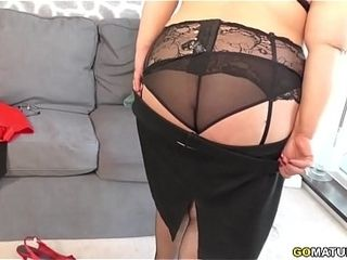 Curvy BBW Anna bringing off with regard to myself