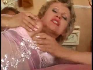 horny blonde milf fucks her son's friend