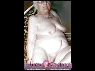 ILoveGranny Old woman,lady and mature showing her naked body