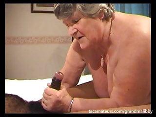 82 genre venerable Grandma Libby takes juvenile jet blarney