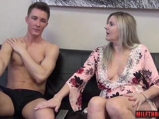 Mischievous mother coitus with internal ejaculation