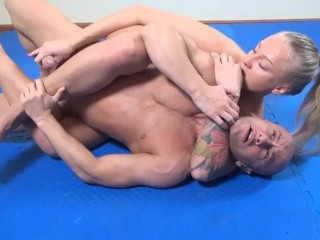 Behemoth Yana wrestling